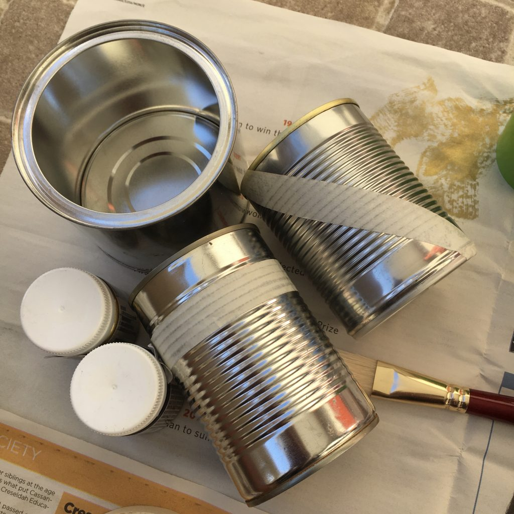 Tin cans DIY