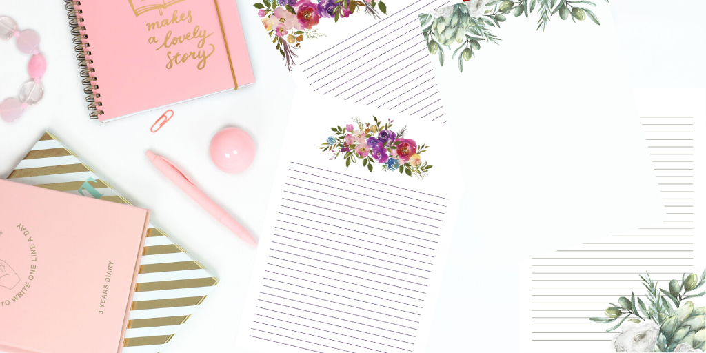Printable stationery